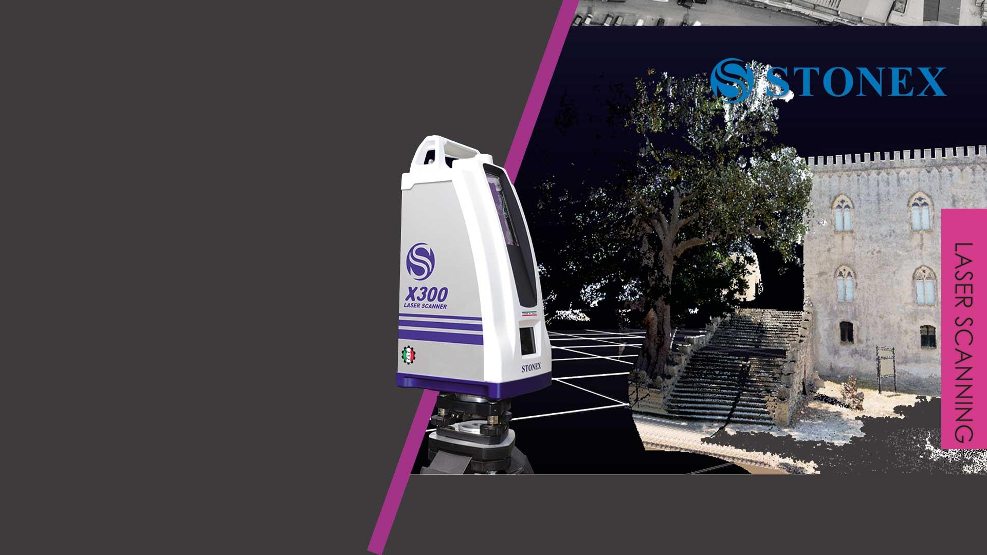 X300 3D laserski skener